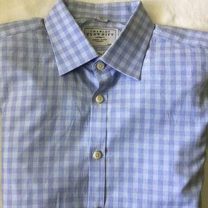 Charles Tyrwhitt Mens Dress Shirt 16.5 / 35 in.